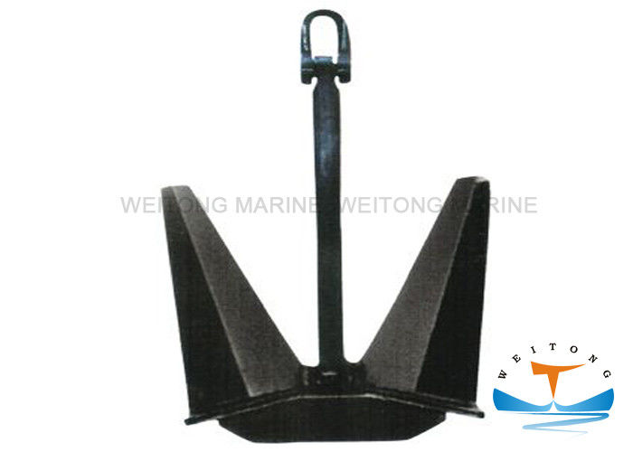 Casting Steel Pool Anchor Stockless Shape N / TW Type With CCS Certificated