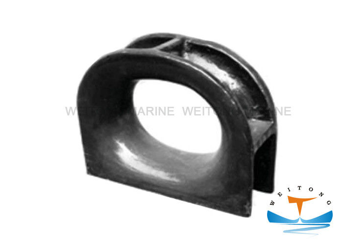 JIS F 2005-75 Marine Mooring Equipment Panama Chock Black Painted Surface