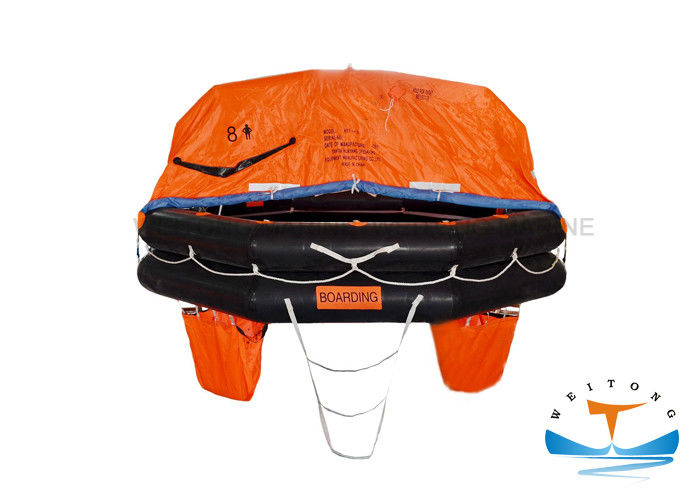 Fast Boarding Marine Life Raft Large Safety Factor 43m Max. Stowage Height