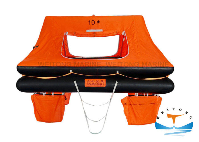 Solas Approved Throw Overboard Life Raft for 10 Persion