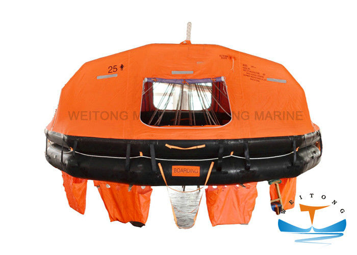 ABS Approved Life Raft Davit Launch , 15 Person Raft 36m Max Stowage Height