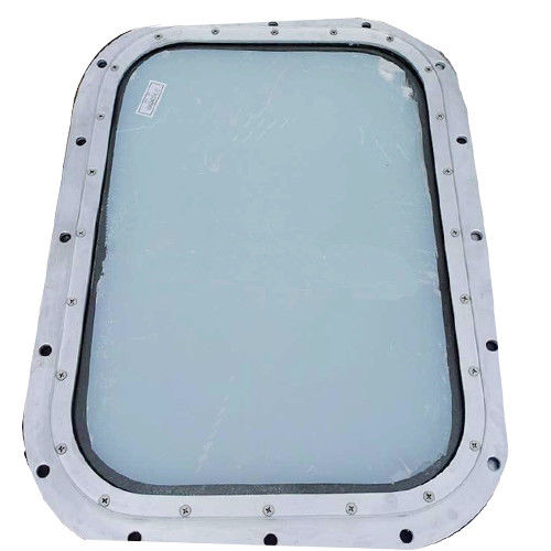 Water Proofing Marine Windows For Boats Wheelhouse Bolted Installation