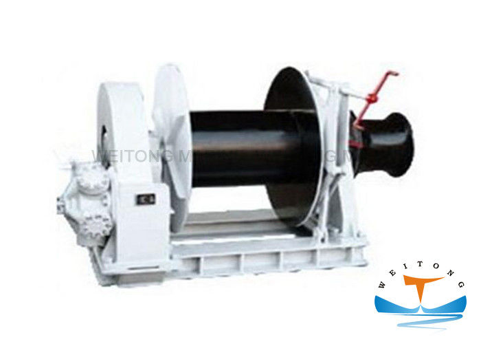 Mooring Marine Electric Winch Customized Chain Spooling Capabilities For Fishing Boat