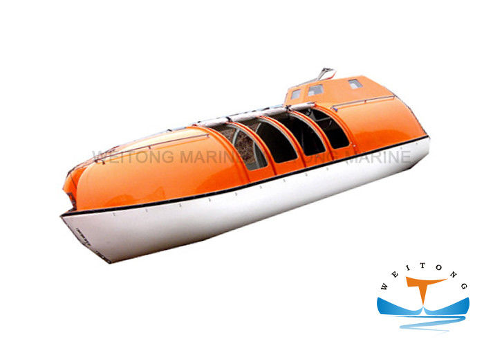 Easy Launching Lifeboat Rescue Boat 5.8-9.6m Length With Smooth Surface