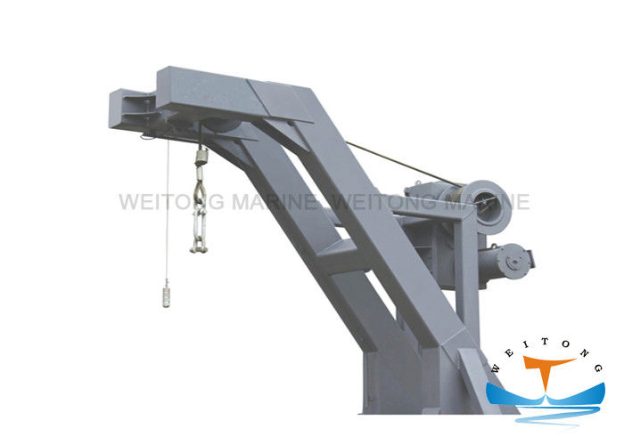 30kn Working Load Free Fall Lifeboat Davit 23 M / Min Hoisting Speed For Emergency