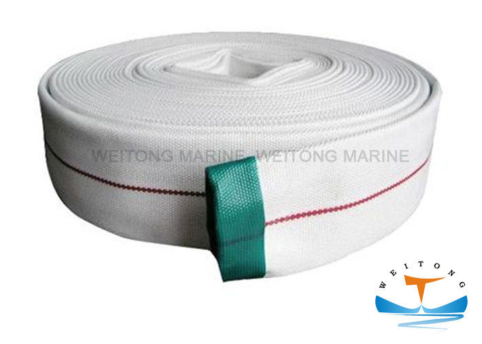 Single Jacket  Marine Fire Fighting Equipment Lined Fire Hose For Fire Protection