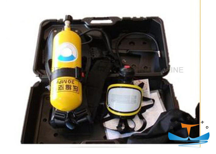 High Performance Marine Fire Fighting Equipment 1800 L SCBA For Fired Boat
