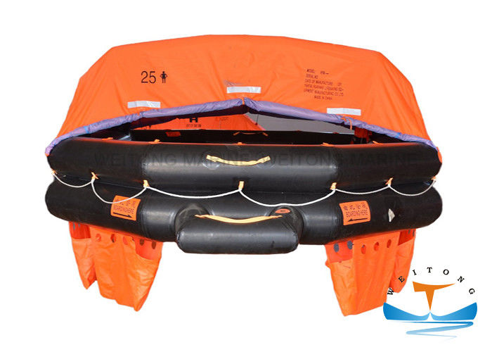 Solas Throw Overboard Marine Life Raft Inflatable Sea Going Vessel Liferaft A Pack