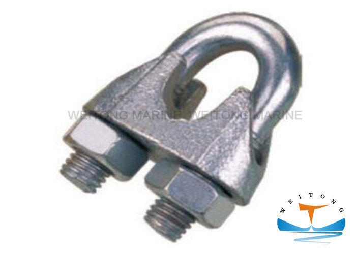 DIN741 Rigging Lifting Equipment Marine Hardware Fasteners Duplex Wire Rope Clip