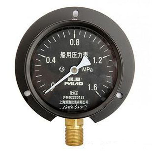 Iron Alloy Remote Reading Thermometer / Yc Marine Industrial Pressure Gauge